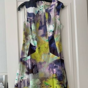 Lela Rose multicolor dress size 6